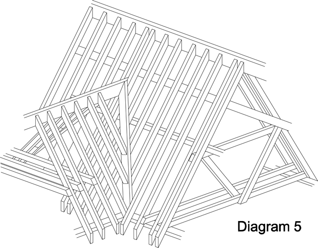 Valley Roof Diagram